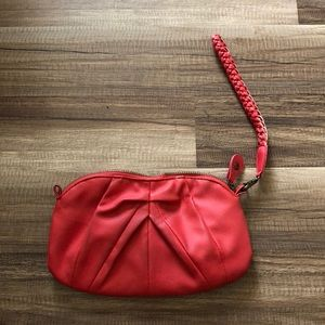 Pink/red Clutch